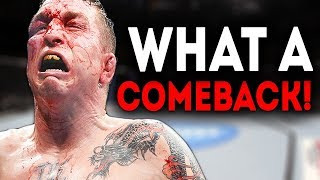 TOP 10 GREATEST Comebacks in MMA