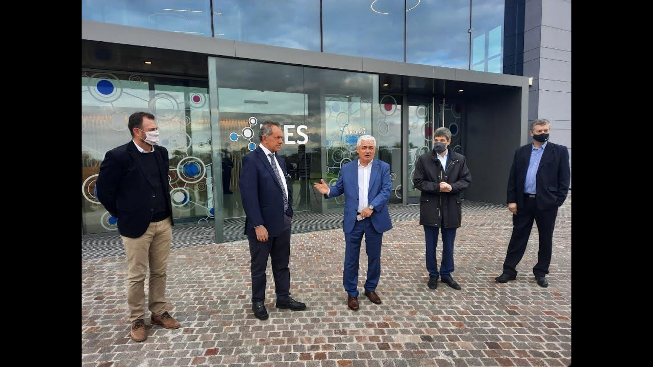 El Grupo Sancor Seguros recibió la visita de una comitiva encabezada por Daniel Scioli