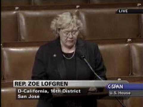 Rep. Zoe Lofgren: I-SPY