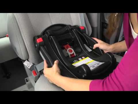How To Install Graco Click Connect  Car Seat