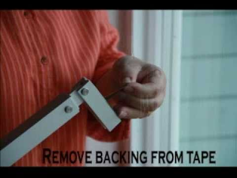 How To Install The Best Sliding Glass Door Security Barlock Youtube
