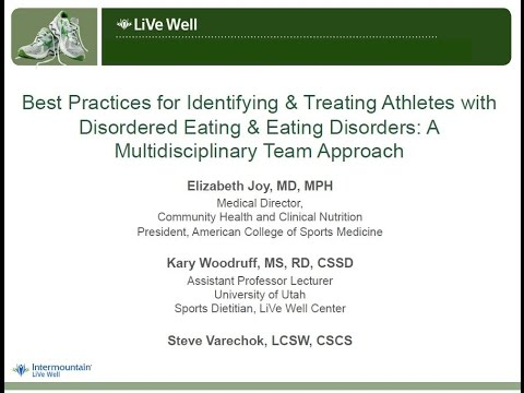 Best Practices for Identifying & Treating Athletes with Disordered Eating