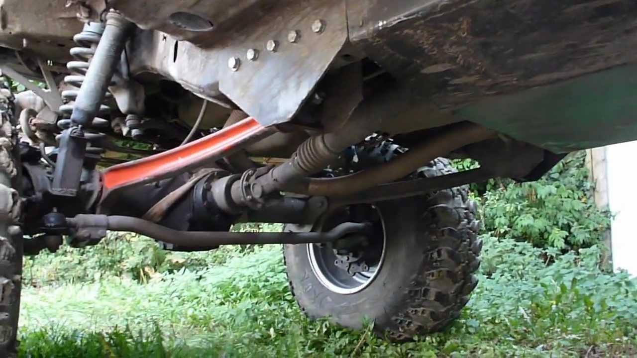 Jeep Unikee 42 Quot Irok 406 Unimog Axles Youtube