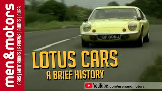 Used Car Advice: Lotus Europa(Brendan Coogan gives a brief history of Lotus, and in particular the Elan and Europa variants. Also, Ian Royle has some advice on buying a second-hand Lotus ..., 2013-07-24T14:21:28.000Z)