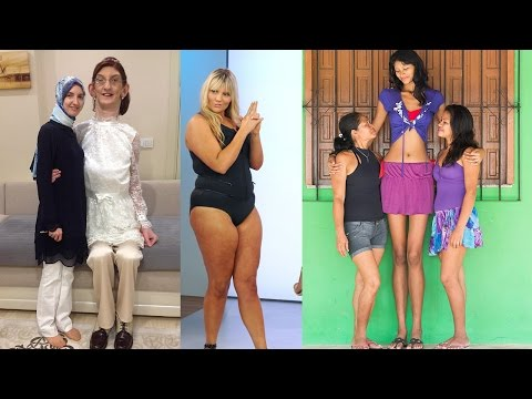 25 Tallest Women Who Ever Lived from YouTube · Duration:  8 minutes 44 seconds