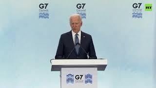 Joe Biden on cybercriminals exchange with Russia