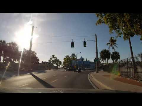 Driving Around Empty Fort Myers Beach, Florida