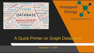 Untapped Energy - November 17, 2020 Meetup - A Quick Primer on Graph Databases