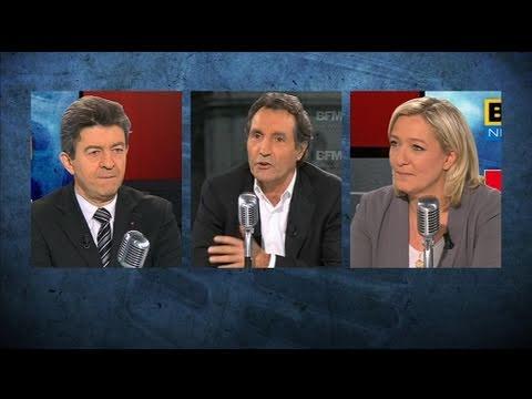 Débat Le Pen-Mélenchon : les moments forts