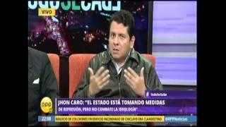 ENTREVISTA AL GRAL(R)  JOHN CARO  Y AL SR  LUIS SANCHEZ EXPERTO  EN TERRORISMO      RPP TV