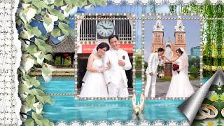 свадебное слайд шоу из фото под музыку
