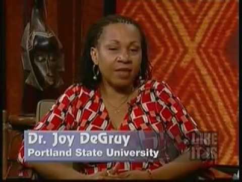 Dr joy degruy youtube