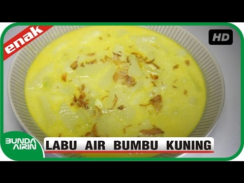 Labu Air Bumbu Kuning Resep Masak Indonesia Nusantara Rumahan Sederhana Sehari Hari Bunda Airin Youtube