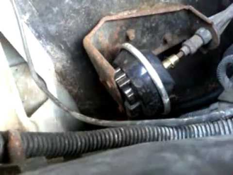 chevy blazer wd   working bad vacuum actuator