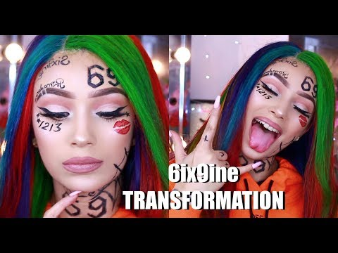 Turning Myself Into 6ix9ine The Rapper !