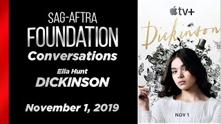 Conversations with Ella Hunt of DICKINSON