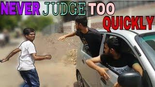 NEVER JUDGE TOO QUICKLY   WATCH TILL END   TAJ VINES   ADARSH JAIN
