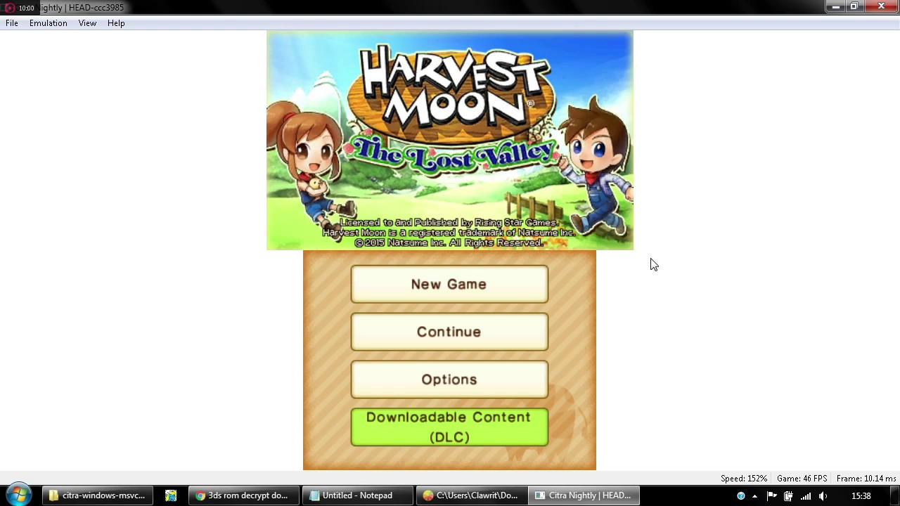 HP 14-AF118AU Amd A8-7410 #14 - Nyobain emulator 3DS (Citra) by Clawrit