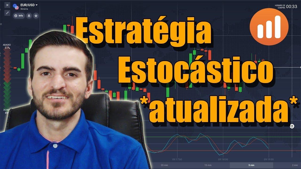 IQ OPTION - Estratégia Estocástico | AULA TESTE