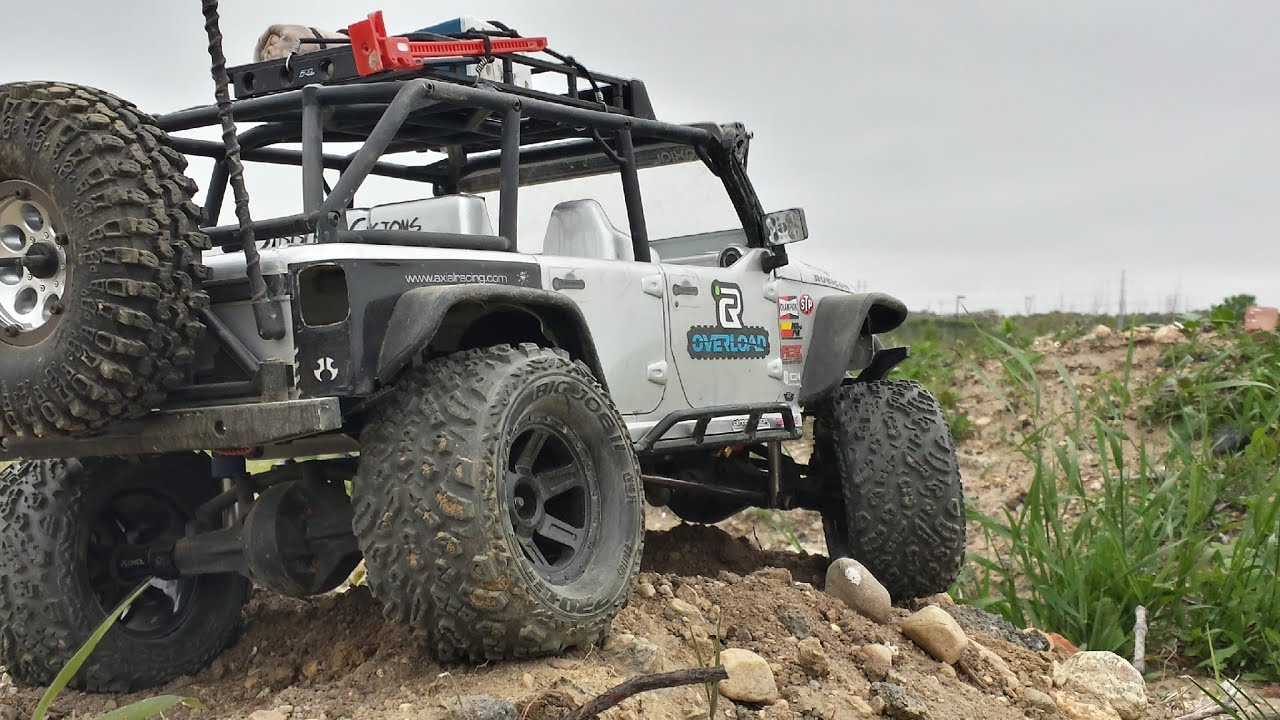 Axial Scx10 Jeep Wrangler Unlimited Rubicon Proline