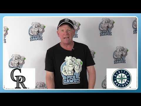 Seattle Mariners vs Colorado Rockies Free Pick 8/8/20 MLB Pick and Prediction