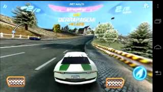 Asphalt 6 Adrenaline gameplay on Motorola RAZR HD