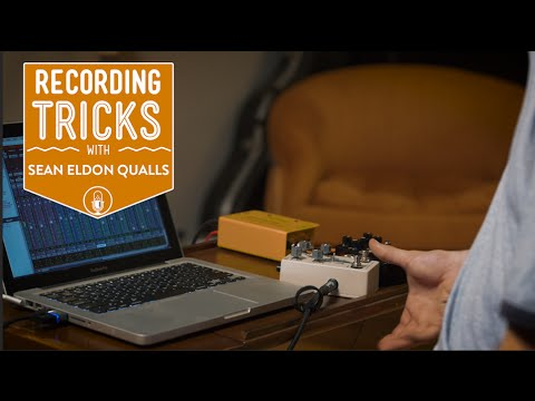 How To Use Effects Pedals As Outboard Gear | Recording Tricks