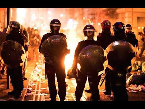 Chaos Outside New Mexico Trump Rally