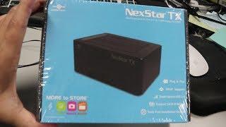 NexStar Dual Bay hard drive enclosure