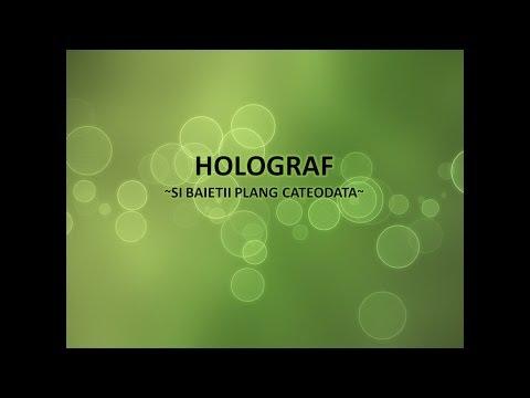 Holograf - Si baietii plang cateodata (cu versuri)