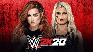 Becky Lynch vs. Toni Storm: WWE 2K20 match simulation