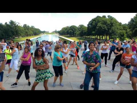 Lincoln Memorial, Washington, D.C. Marriage Proposal Flash Mob