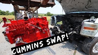 $5,000 2010 Ford F350- Cummins Swap 6.4L to 12 valve Cummins Part 4