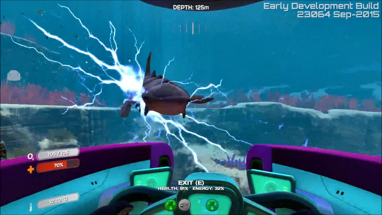 Subnautica v23064 and Seamoth Update Release