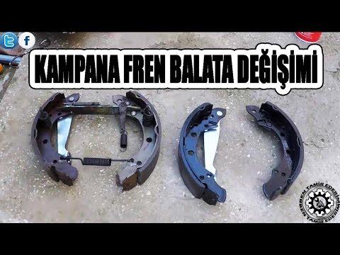 Kampana Fren Balata Değişimi (Drum Brake Change)