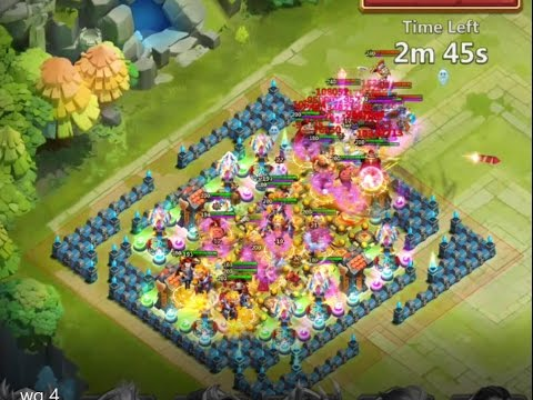 How To Beat Wretched Gorge 4 Castle Clash