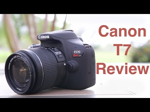 Canon Rebel T7 (1500D) Review