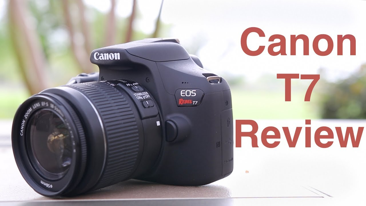 Canon Rebel T7 1500d Review