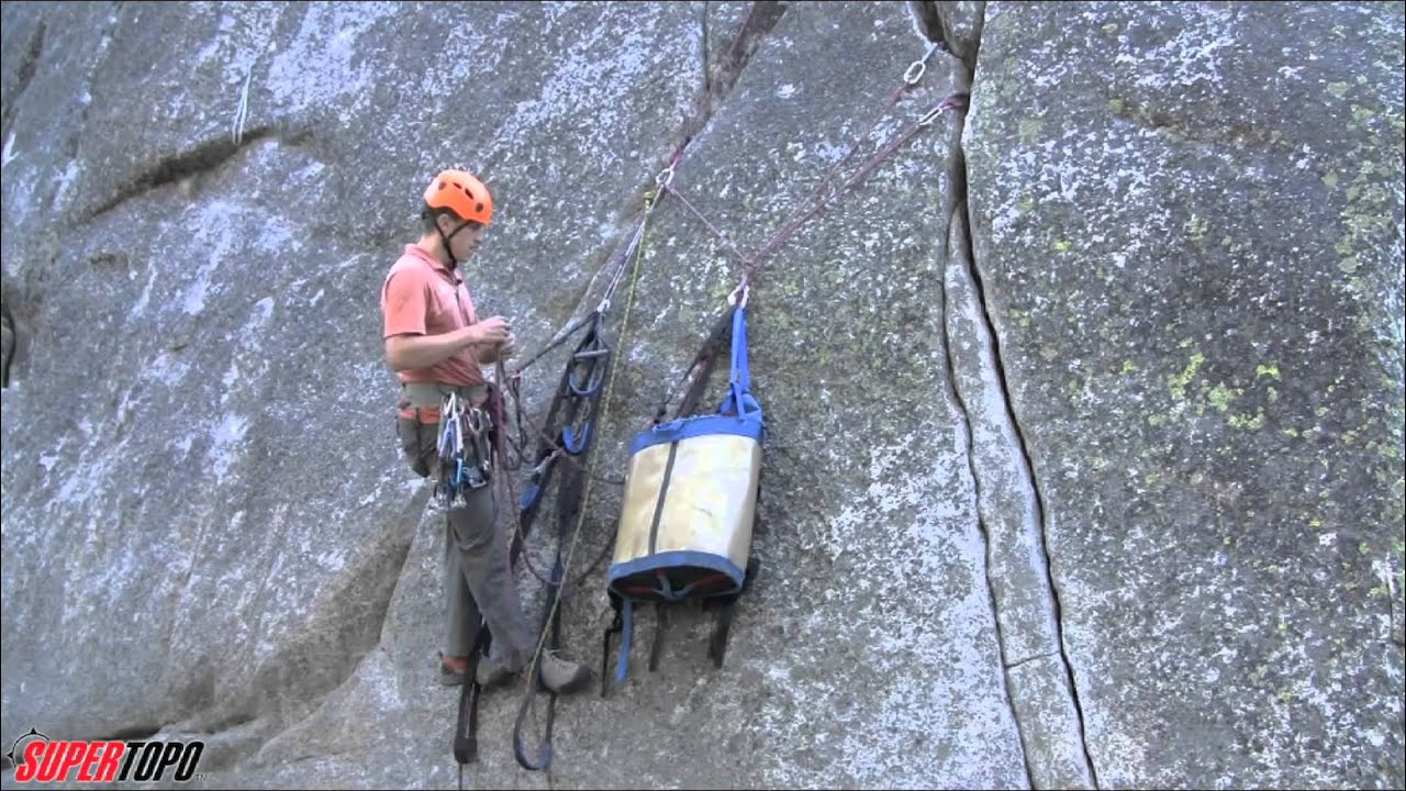 Wonderful Big Wall Pictures Part - 14: Managing The Belay When Aid Climbing - How To Big Wall Climb - YouTube