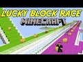 JNX HAR OCKSÅ OTUR |  LUCKY BLOCK RACE | Minecraft Mini-Game