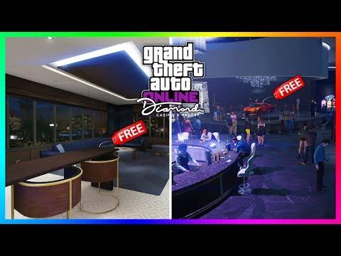 GTA 5 Online Diamond Casino & Resort DLC Update - NEW DETAILS! FREE Master Penthouse & MORE! (GTA 5)