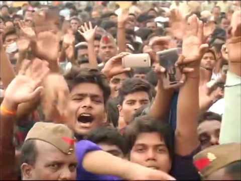 PM Modi sounds poll bugle in India's biggest state