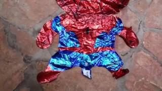 spiderman inflating foil balloon from gearbest