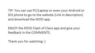 How To Get Clash Of Clans (COC) - MOD Version (No Root/No Survey) Easy Way To Download