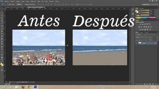 curso photoshop cs6 b clase 7 (trabajando con el tampón de clonar)