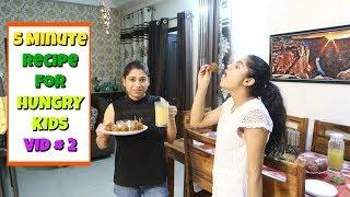 Garmiyo ki Chuttiyo Me Baccho Ke Liye Evening Snacks 🌯🥙   Indian Mom Studio