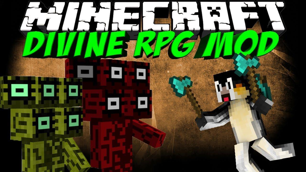 Divine rpg [1. 7. 10] for minecraft.