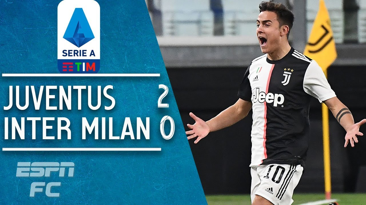 Aaron Ramsey and Paulo Dybala put Juventus back on top vs. Inter Milan | Serie A Highlights