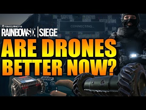 Rainbow Six Siege – In Depth: ARE CAMERA DRONES BETTER NOW?