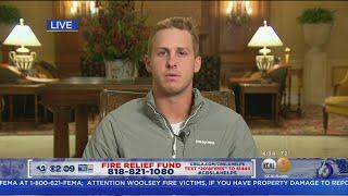 Fire Relief Fund: Jared Goff